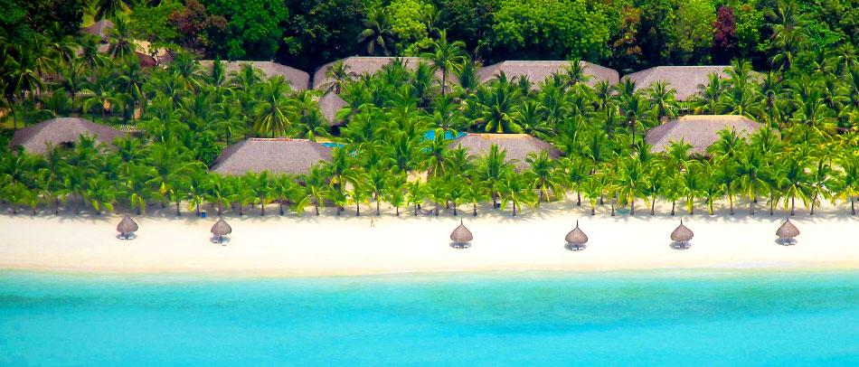 Bohol Beach Club Aerial View